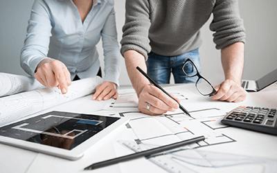 Vous concevez des solutions domotiques, leurs plans d'intégration au bâtiment et sous traitez ou supervisez les travaux d'installation